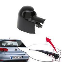 1pc samochodów tylna wycieraczka pokrywa Cap czarne wycieraczki Passat nowy Touran dla Bmw E46 Audi Volkswagen MK5 Golf akcesoria samochodowe tanie tanio CN (pochodzenie) Plastic dropshiping wholesale