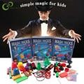 Набор для начинающих Magic Prop Puzzle, набор для детей, захватывающие фокусы мага, шоу с инструкцией по эксплуатации GYH
