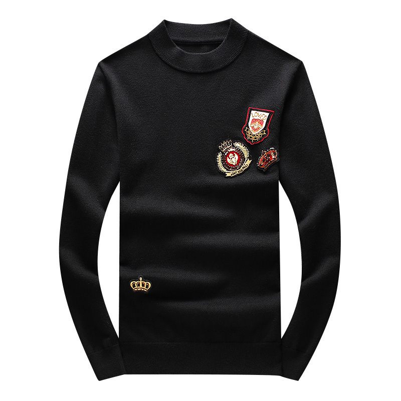 New 2019 Men Luxury Winter Hot Loved Diamond Crown Embroidered Casual Sweaters Pullover Asian Plug Size High Quality Drake #N53