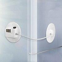 Neue kind-proof fenster schloss kühlschrank schloss high-aufstieg anti-fallen fenster sicherheit lock limiter locator lock code lock