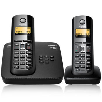 Fixed Wireless Telephone ECO low radiation With digital Answer machine Handfree call ID Screen keyboard backlight Cordless phone