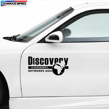 1 set DISCOVERY World Map Graphics Vinyl Decal Car Door Side Body Decor Sticker Exterior Accessories Waterproof