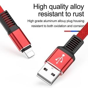 Image 3 - Новинка 2020, USB кабель а для iPhone X, 8, 7, 6, 6S plus, 5 5S, высокопрочный кабель для быстрой зарядки и передачи данных, быстрое зарядное устройство для устройств apple