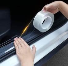 Автомобильные наклейки, защита на порог автомобиля для Hyundai Palisade Grandeur Azera Elantra GT Kona 2018 2019