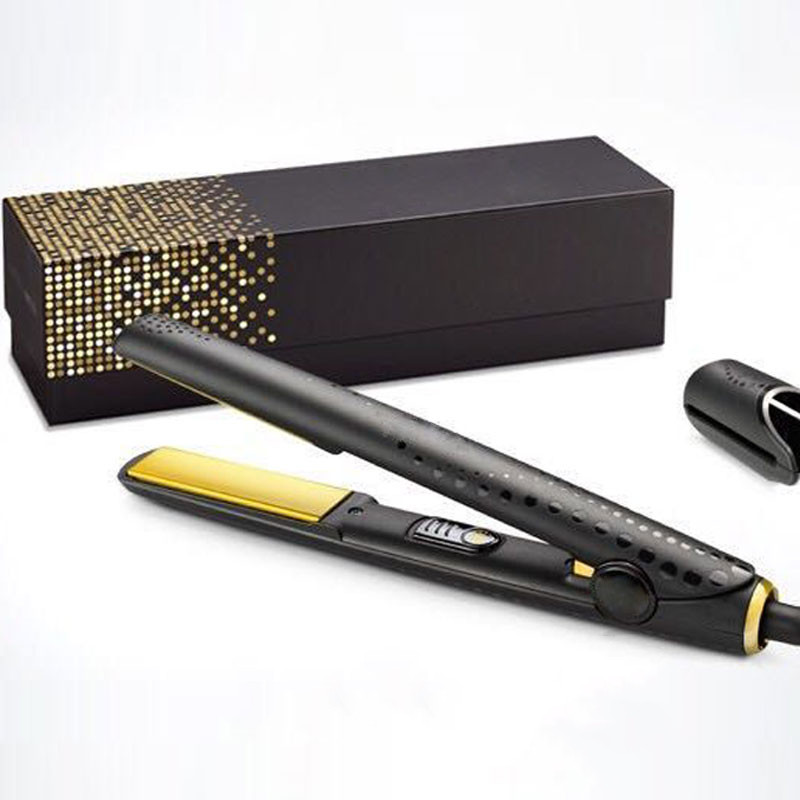 Top Quality V Gold Hair Straightener Classic Fast Hair Straighteners Iron Hair Styling Tool DropShiping Styling Tool