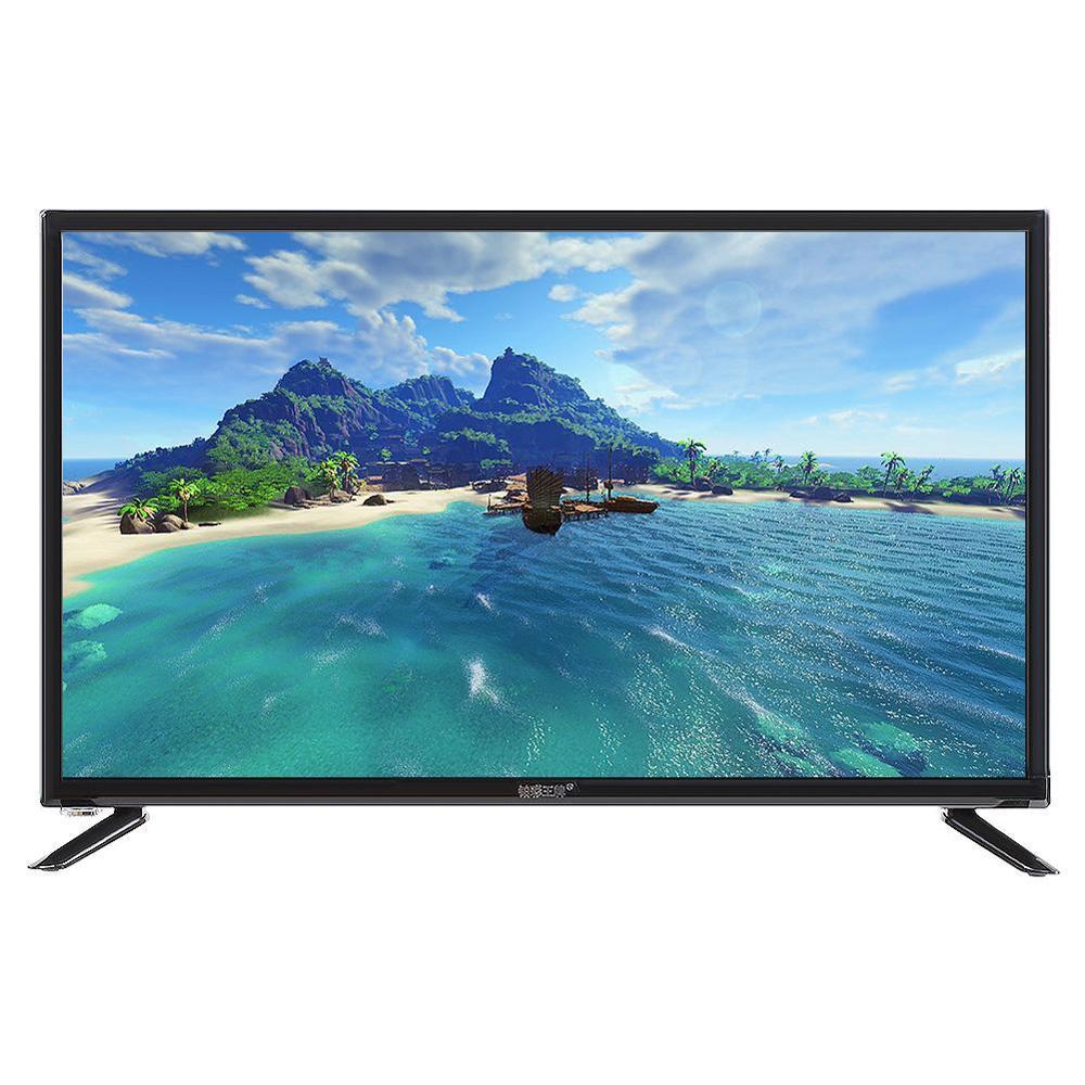 43 Inch HD LCD Television HDR Flat Screen Home TV 1920 1080 75W 60HZ USB Blu Innrech Market.com