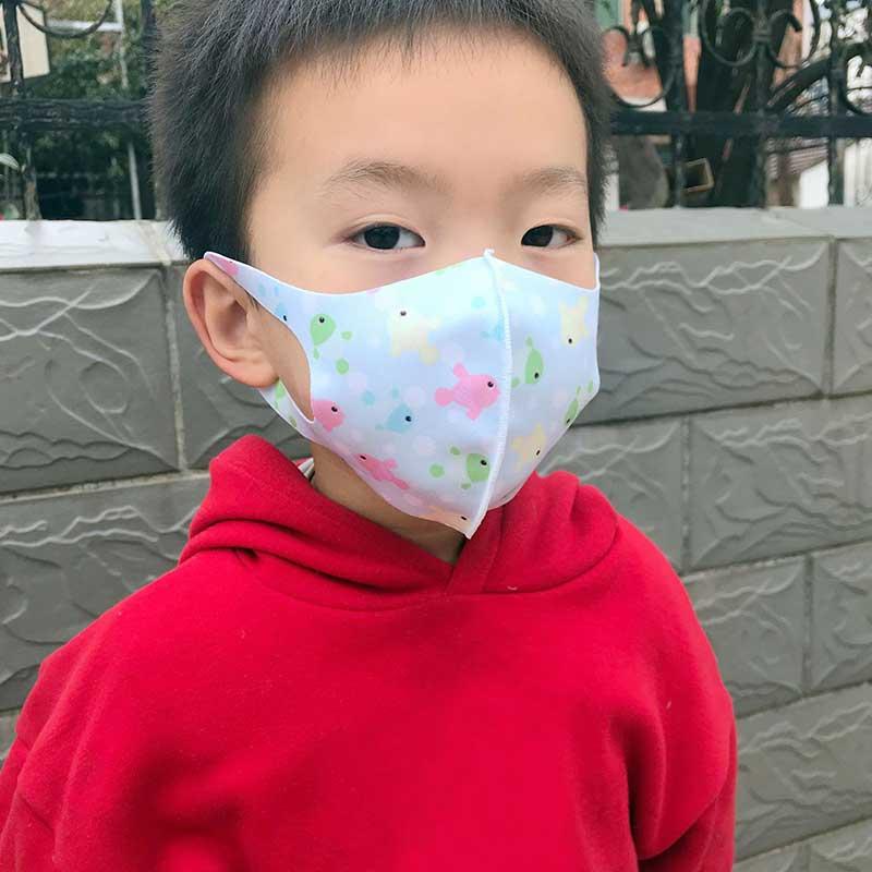 Kids Anti-PM2.5 Pollution Mouth Mask Cotton Children  Face Masks Cartoon Print Anti-Haze Breathable Mask Dustproof  Mouth Mask