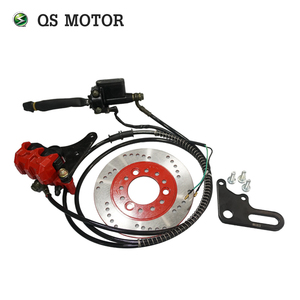 Image 5 - Набор для электромотоцикла QS Motor 10 дюймов 205 3000 Вт/комплект для электромотоцикла/комплект для переоборудования электрического мотоцикла