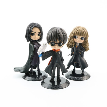 цена на 15CM Bright Big Eyes Harried Hermione Snape PVC Anime Figure Dolls Collectible Action Figure Q Version Model Younger Toys