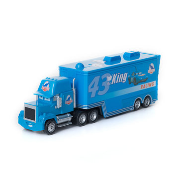 Cars Disney Pixar Cars 3 Toys No.43 The King Mack Uncle Truck Lightning McQueen Jackson Storm Cruz Diecast Model Car Toy Gifts image
