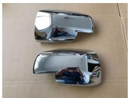 Full Chrome Wing Mirror Covers For Land Rover Range Sport Freelander 2