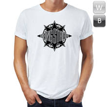 Gang Starr T-Shirt Guru Hip Hop Rap Dj Premier Rock Band Logo Tee Tshirt Top T Unisex Magliette(China)
