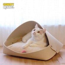 Cawayi питомник мягкий домик для кошек кровать собак товары