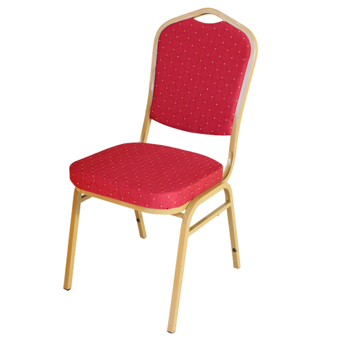 Simple Wrought Iron Back Home Stool Hotel General Chair Hotel Banquet Chair Conference Chair Big Round Dining Table