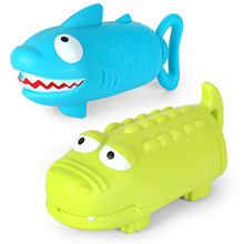 Kids Animal Guns Toys Shooter Guns Summer Swimming Cute Crocodile Shark Piglet Squirt Pull-out Boys and Girls Bathing Toy New