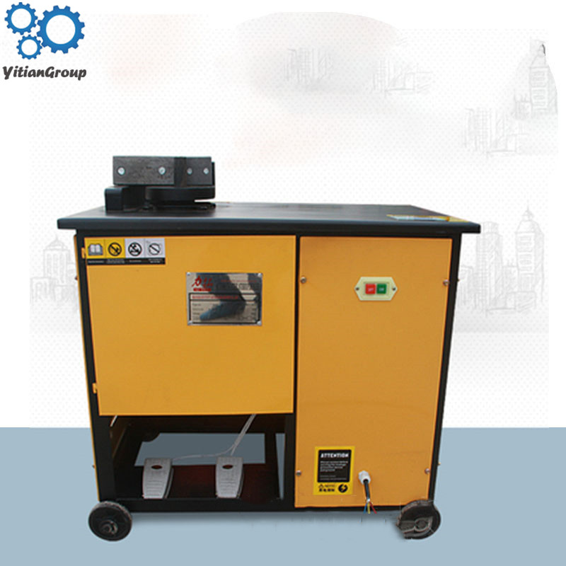 High Speed Iron Bar Bending Machine / CNC Steel Bar Bending Machine Construction Bending Ring Device