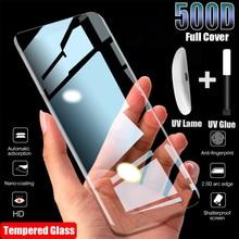 UV Защитная пленка для экрана из закаленного стекла для Samsung Galaxy S10 S21 Plus Ultra S8 S9 S20 протектор экрана 4G 5G для Samsung Note 20 10 9 8