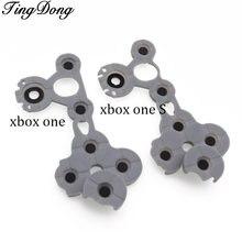 3 шт серый кремниевый проводящий резиновый кнопка для xbox one