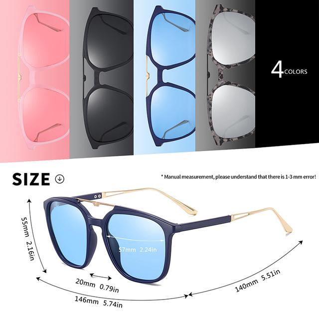 Women's Polarized Oversize Sunglasses