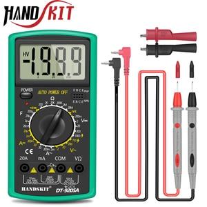 Image 1 - Handskit multimetro AC DC multimetro digitale Tester professionale voltmetro Display LCD 2000 conteggi Tester Tester