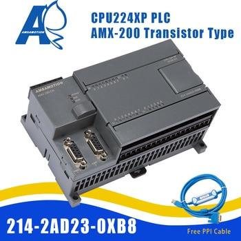 Amsamotion CPU224XP S7-200 CN Replace Siemens 6ES7 214-2AD23-0XB8 PLC DC/DC/DC 14 Input 10 Output Transistor Digital цена 2017