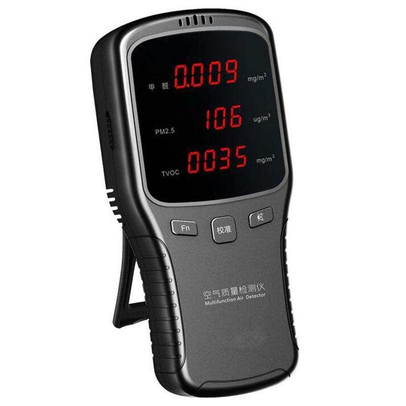 Digital Formaldehyde PM2 5 HCHO TVOC Meter Air Quality Gas Detector Monitor|Gas Analyzers| |  - title=