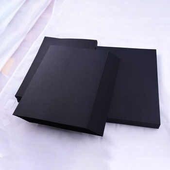 Blank Black Paper Graffiti DIY Handmade Paper A4 A3 8K 4K 80g 180g 300g Craft Paper Cardboard Blank Hand Drawing Sketch Paper