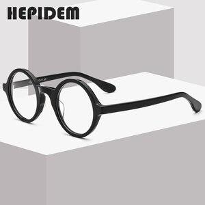 Image 2 - Acétate optique lunettes cadre hommes nouveau rétro Vintage rond lunettes de vue femmes lunettes homme femme optique Nerd lunettes Zolman