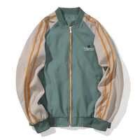 Männer Jacken Windschutz Mäntel Jugend Koreanische Design jacken M-3XL Casual Koreanische Baseball Uniform Brief Hip Hop Streetwear, ZA320