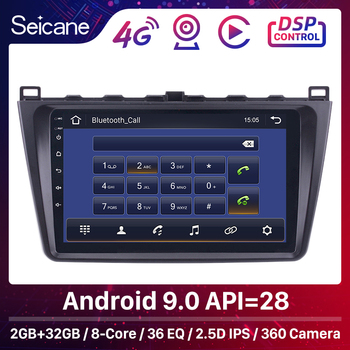 Seicane 2DIN Android 9.0 GPS Car Head Unit Radio Audio Multimedia Player For Mazda 6 Rui wing 2008 2009 2010 2011 2012 2013 2014 image