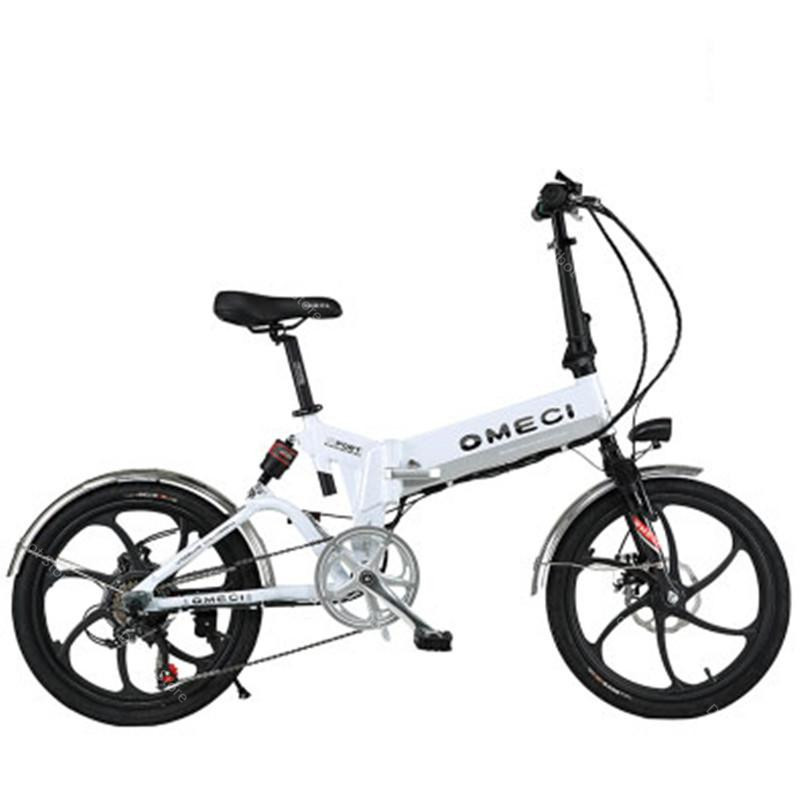Foldable-Electric-Bike-With-Double-Suspension-Brake-20-Inch-350W-48V-White-Black-Three-Spokes-Adults (1)