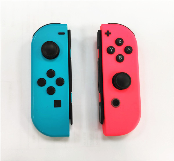 Original 90% New Pink And Blue Wireless Bluetooth Controller Joycon For Nintend Switch NS Switch Console