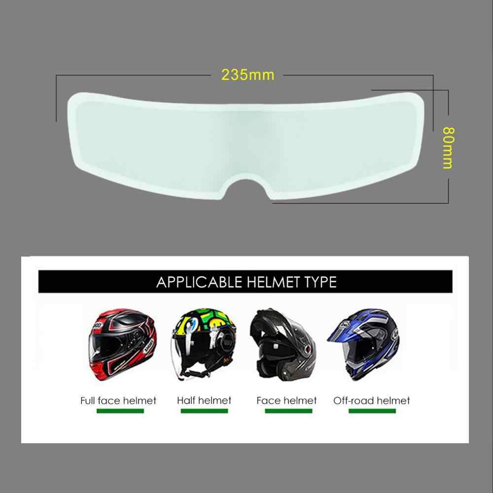 Helmet Visor Film,Waterproof Motorcycle Helmet Lens Film Visor Shield Scratch Protector Sheets Universal