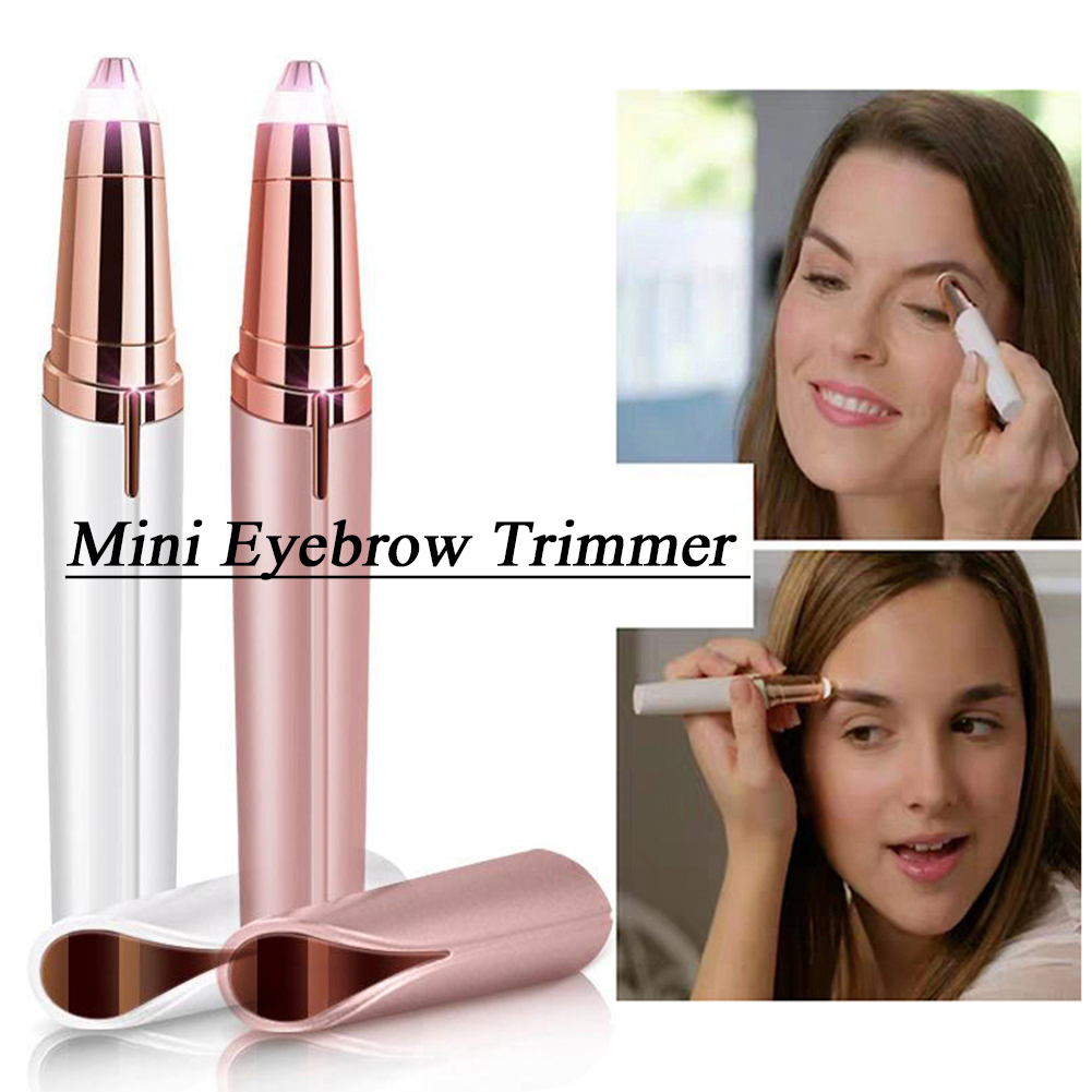 Mini Eyebrow Trimmer Ear Eyebrow Trimmer Painless For Women Personal Face Care Portable Shaver Razor Epilator CW31