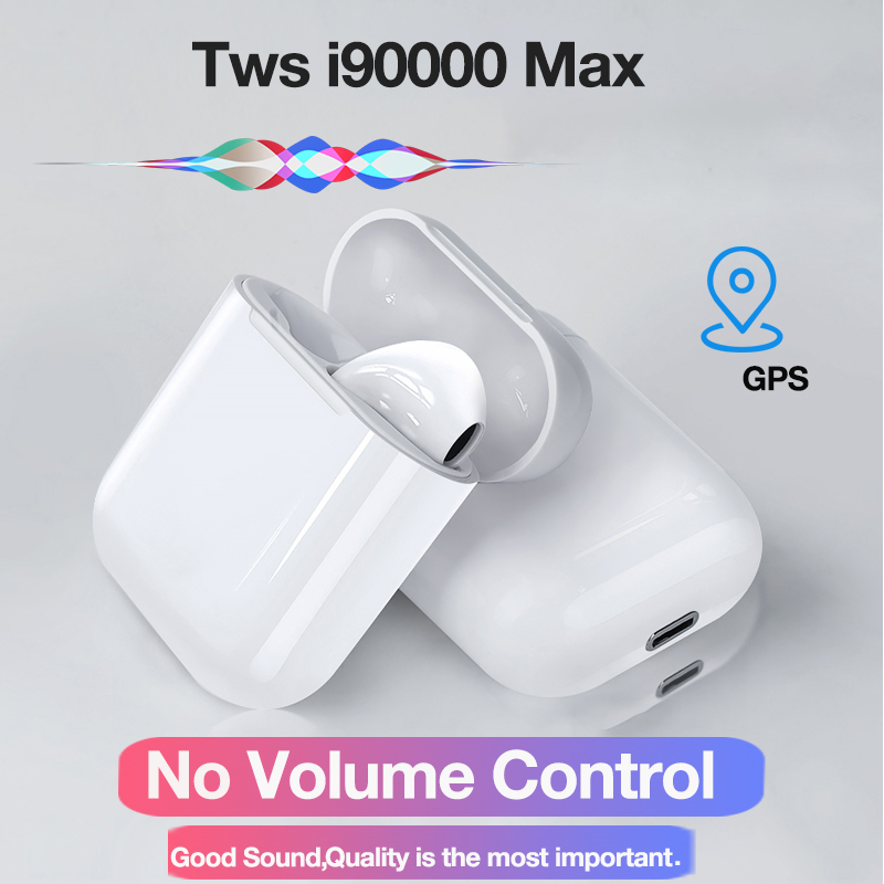 <font><b>Original</b></font> <font><b>i90000</b></font> Max <font><b>TWS</b></font> Bluetooth Earphone Wireless Headphone Air2 in Ear Stereo Earbuds For Phone Bass Headset with Microphone image