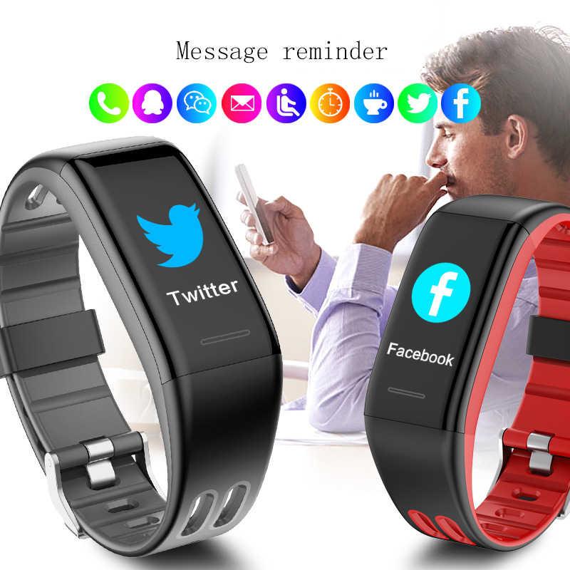 Bluetooth Смарт-часы, Heart rate Band IP68, Водонепроницаемый Фитнес-трекер, умный браслет для мужчин и женщин, наручные часы