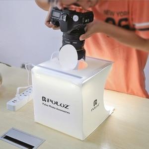 Image 5 - Складной лайтбокс Cadiso для фотосъемки, портативный светильник тбокс для студийной фотосъемки, 2 светодиодных софтбокса, фотопалатка для фотосъемки, телефона