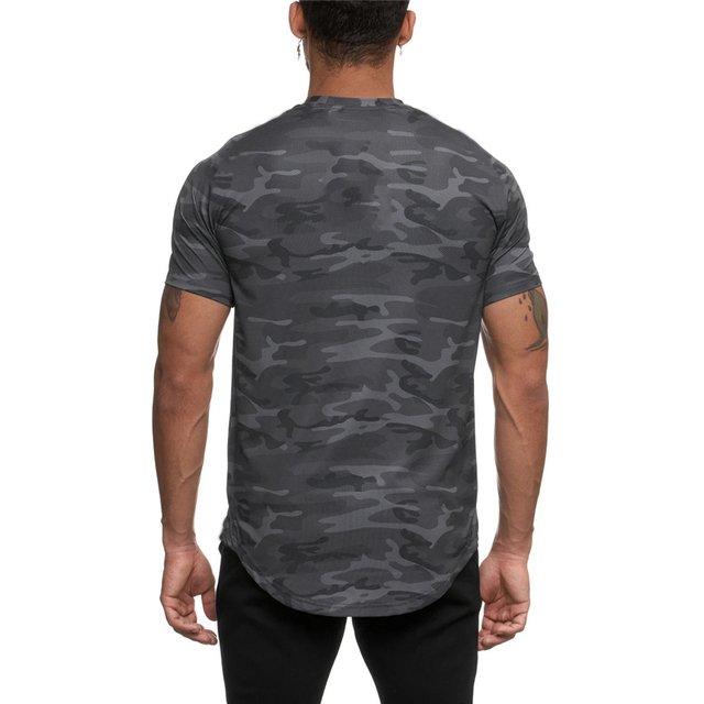 Camo Sport Fitted T-shirt 6
