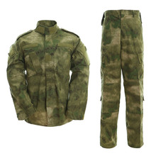 Military Tactical Uniform For Hunting Shirt & Pants Waterproof Camouflage Tactical BDU Combat Uniform US Army Men Clothing Set kryptek mandrake frog fighting suit police frog uniforms army trainning uniform set one long sleeve shirt and one tactical pant