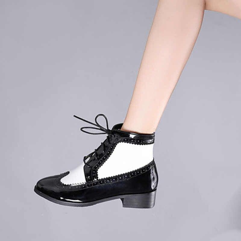Kadın kış kar botları hakiki deri ayak bileği kış chelsea topuk çizme kadın kısa kahverengi çizmeler 2019 kadın botları