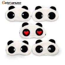 Панда Спящая маска для глаз Nap тени для глаз мультяшная повязка на глаза для сна глаза покрытие для сна Отдых в путешествии патч Blinder