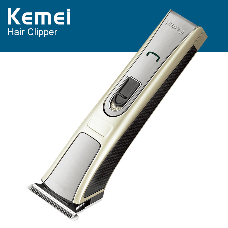 Kemei Rechargeable Hair Trimmer Bear Shaver Waterproof Hair Clipper Electric Razor Shaving Machine Facial Cleaner KM-5017