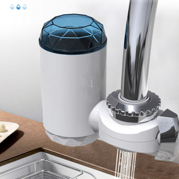 Household Mini Tap Water Purifier Kitchen Faucet Washable Ceramic Percolator Water Filter Filtro Rust Bacteria Removal Tools kitchen faucet tap water purifier washable ceramic percolator household water purifier ceramic activated carbon filter element
