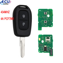 New Remote key 2 button 434MHZ with 4A PCF7961M chip for Renault Sandero Dacia Logan
