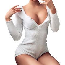 2020 Fashion Trend Bodysuits Soft Velvet Bottoming Shirt Women Jumpsuits Sexy So