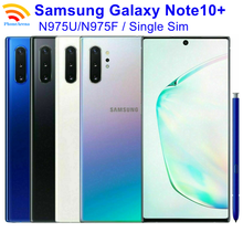 Оригинал, Samsung Galaxy Note10 + Note10 плюс N975U1/N975U/N975F 90% новый 6,8