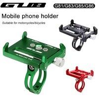 Supporto per telefono per bicicletta GUB G81/G83/G85/G86 supporto per cellulare per moto Scooter Smartphone culla supporto per manubrio per bici