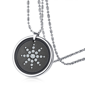 Anti EMF Radiation Protection Pendant Tourmaline 2300 Negative Ions Far Infrared & Scalar Energy Volcanic Lava  Reverse Aging 7