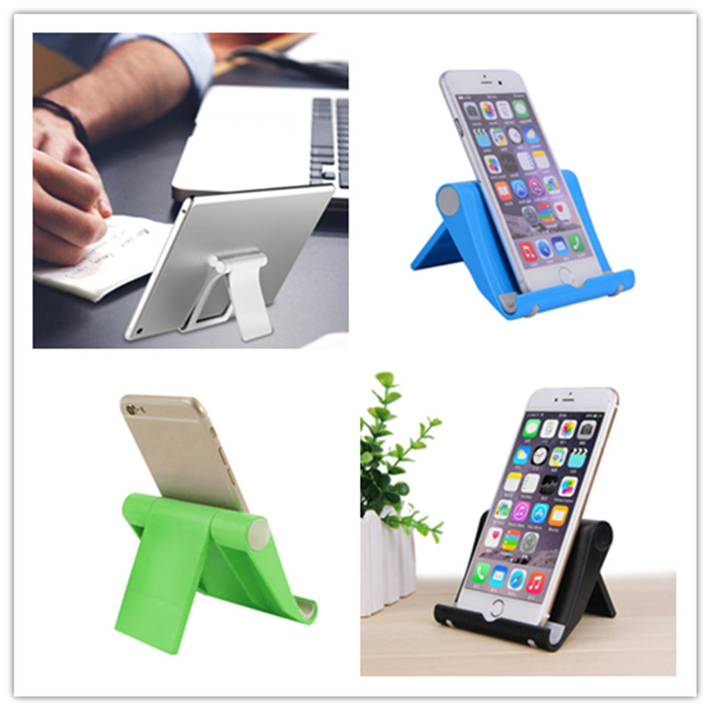 Multi-angle Adjustable Tablet Holder Stand for ipad iphone Portable Lazy Phone Holder Mount Universal Foldable Tablet Desk Stand