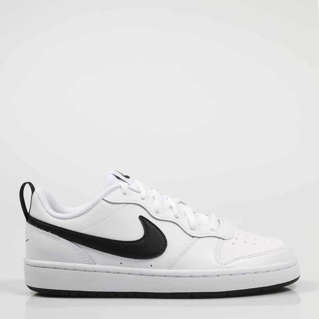 NIKE ZAPATILLAS COURT BOROUGH WHITE BQ5448 Blanco Polipiel Mujer White SNEAKERS Woman Shoes Casual Fashion White Leather 75669
